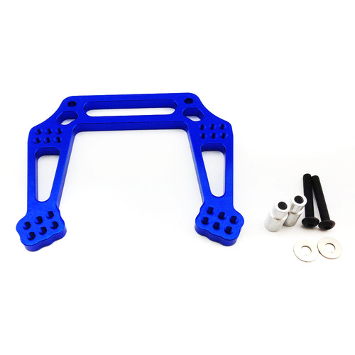 Atomik RC Front Shock Tower for Traxxas Slash 1/10 Scale RC Short-Course Truck (Blue)