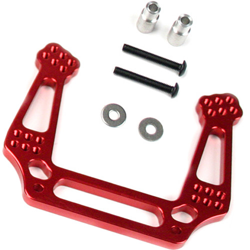Venom Group Traxxas 1:10 Slash + Other Trx Models Alloy Front Shock Tower (Red)