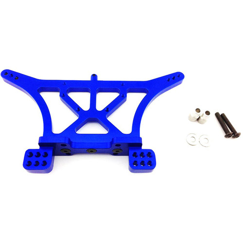 Atomik RC Rear Shock Tower for Traxxas Slash 1/10 Scale RC Short-Course Truck (Blue)