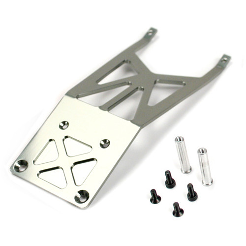 Atomik RC Front Skidplate for Traxxas Slash 1/10 Scale RC Short-Course Truck (Gray)