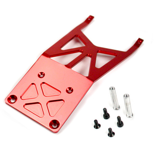 Atomik RC Front Skidplate for Traxxas Slash 1/10 Scale RC Short-Course Truck (Red)