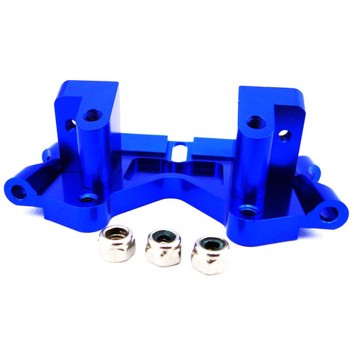 Venom Group Traxxas 1:10 Slash + Other Trx Models Alloy Front Lower Bulkhead (Blue)