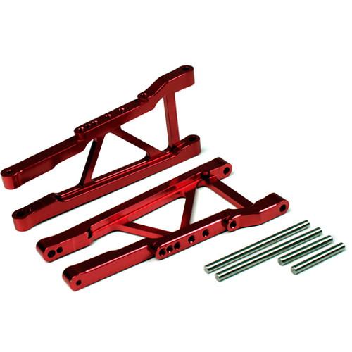 Venom Group Traxxas 1:16 Slash 4X4 + Other Trx Models Alloy Wheelie Bar (Red)