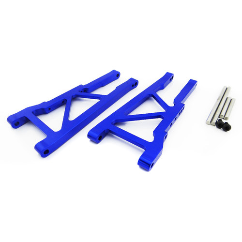 Atomik RC Front Lower Arm for Traxxas Slash 1/10 Scale RC Short-Course Truck (Blue)