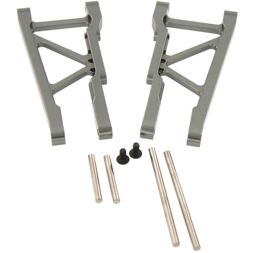 Atomik RC Front Lower Arm for Traxxas Slash 1/10 Scale RC Short-Course Truck (Gray)