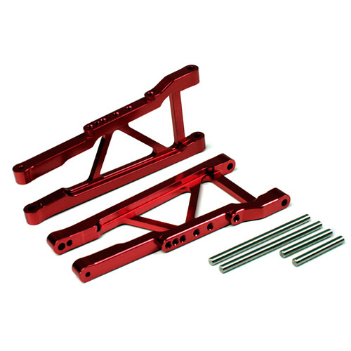 Atomik RC Front Lower Arm for Traxxas Slash 1/10 Scale RC Short-Course Truck (Red)