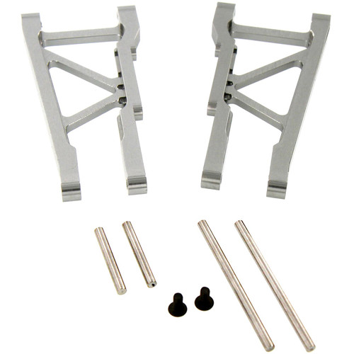 Atomik RC Rear Lower Arm for Traxxas Slash 1/10 Scale RC Short-Course Truck (Gray)