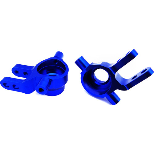 Atomik RC Steering Block for Traxxas Slash 1/10 Scale RC Short-Course Truck (Blue)