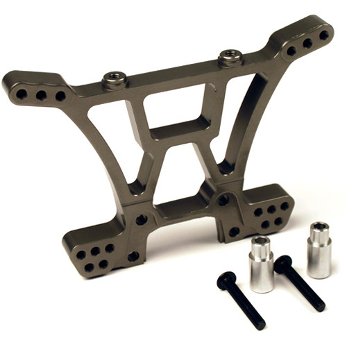Atomik RC Rear Shock Tower for Traxxas Slash 1/10 Scale RC Short-Course Truck (Gray)