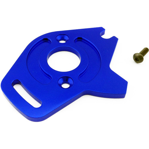 Atomik RC Motor Plate for Traxxas Slash 1/10 Scale RC Short-Course Truck (Blue)
