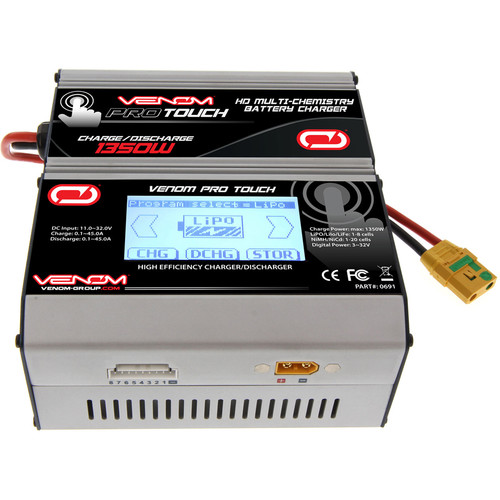 Venom Group ProTouch HD Touch Screen LiPO & NiMH Battery Charger