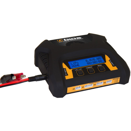 Venom Group Bias 2 To 4 Cell AC:DC Dual 2S Port 3 Amp 40W RC LiPo Battery Balance Charger