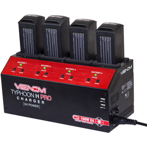 Venom Group 4-Port Battery Balance Charger for YUNEEC Typhoon H Hexacopter