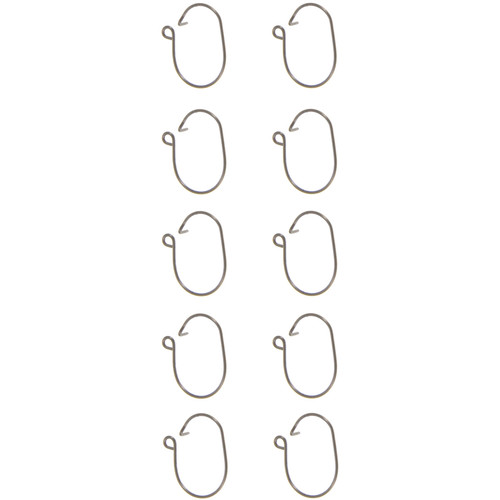 Atomik RC Mainsail Luff Rings for Joysway V1-V5 Dragon Force RC Sailboat (Set of 10)