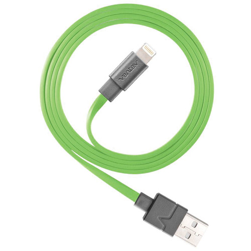 Ventev Innovations Chargesync Apple Lightning Cable (3.3', Green)