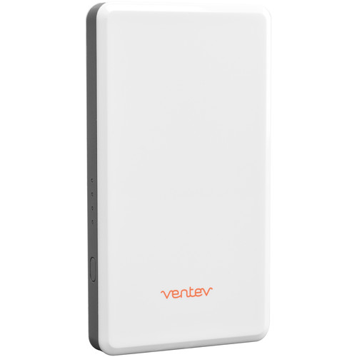 Ventev Innovations powercell 3015 Portable Battery and Charger (White and Light Gray)
