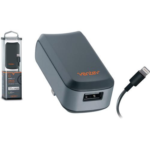 Ventev Innovations wallport e1100 USB Wall Charger Lightning Cable