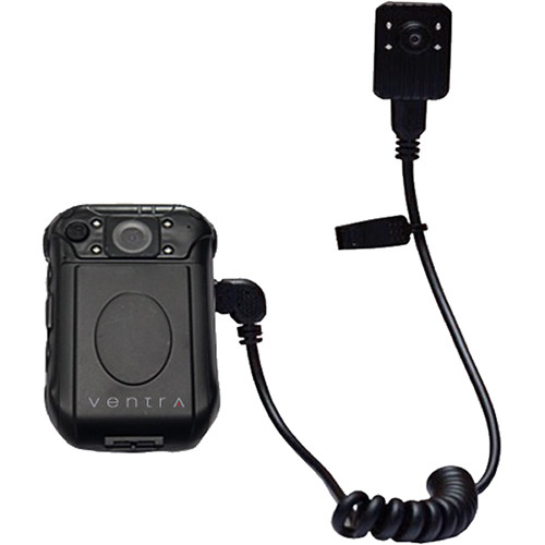 Ventra Technology BCR-300 5MP Body Camera with External Lapel Camera