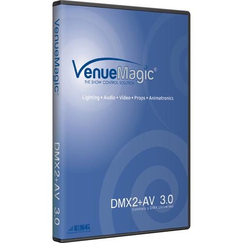 VenueMagic DMX2+AV 3.0 - Show Control DMX Software
