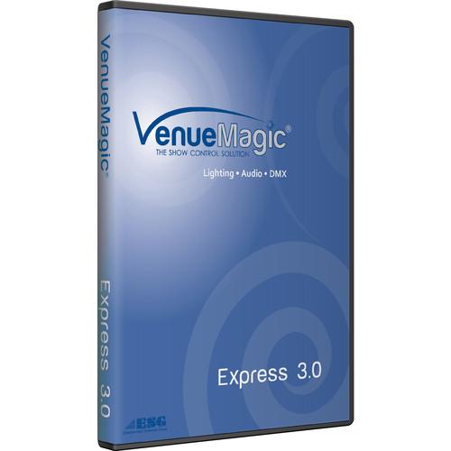 VenueMagic 3.x Express Audio Mixing/Editing and DMX Control Software