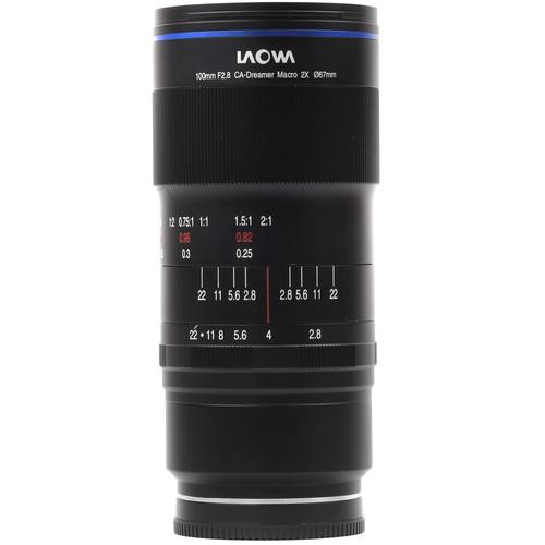 Venus Optics Laowa 100mm f/2.8 2X Ultra Macro APO Lens for Sony E