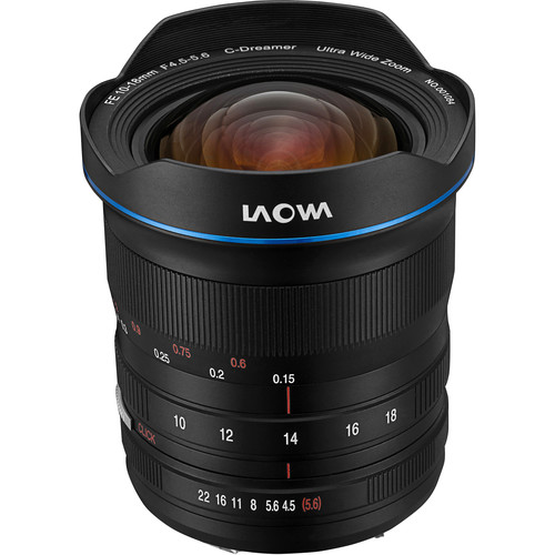 Venus Optics Laowa 10-18mm f/4.5-5.6 FE Zoom Lens for Sony E