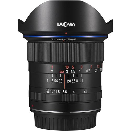 Venus Optics Laowa 12mm f/2.8 Zero-D Lens for Nikon F (Black)