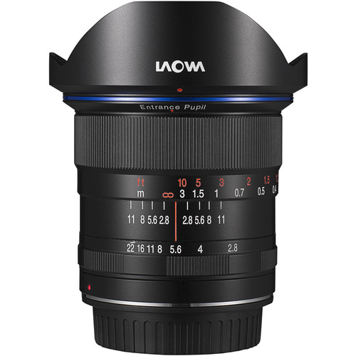 Venus Optics Laowa 12mm f/2.8 Zero-D Lens for Sony A (Black)