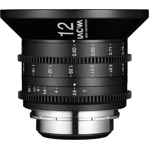 Venus Optics Laowa 12mm T2.9 Zero-D Cine Lens (PL Mount)