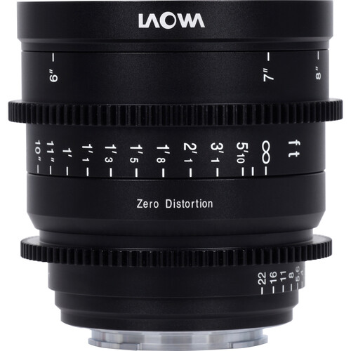 Venus Optics Laowa 15mm T2.1 Zero-D Cine-Lens (Sony E, Feet)