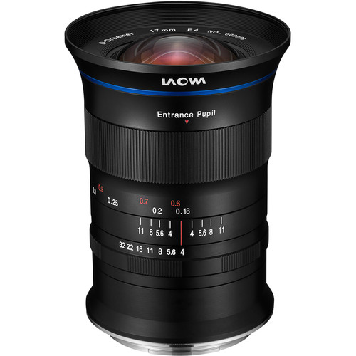 Venus Optics Laowa 17mm f/4 GFX Zero-D Lens for FUJIFILM G
