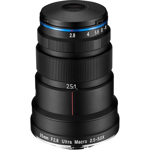 Venus Optics Laowa 25mm f/2.8 2.5-5X Ultra Macro Lens for Nikon F