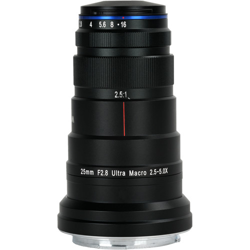 Venus Optics Laowa 25mm f/2.8 2.5-5X Ultra Macro Lens for Canon RF