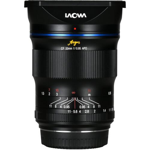 Venus Optics Laowa Argus 33mm f/0.95 CF APO Lens for FUJIFILM X
