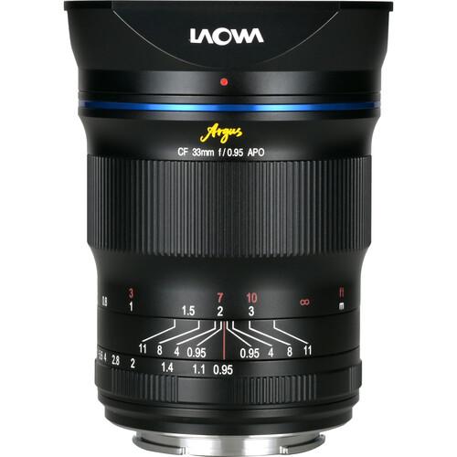 Venus Optics Laowa Argus 33mm f/0.95 CF APO Lens for Sony E