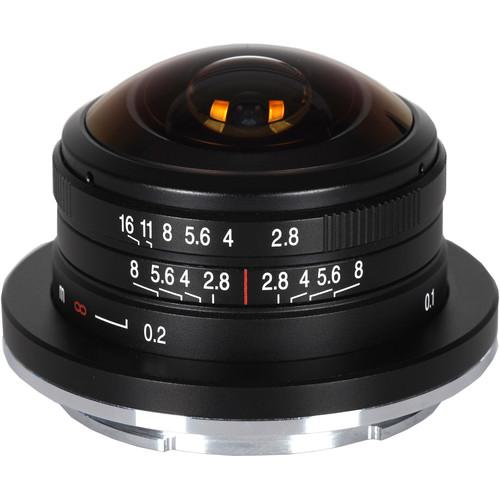Venus Optics Laowa 4mm f/2.8 Fisheye Lens for Canon EF-M