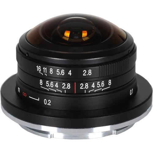 Venus Optics Laowa 4mm f/2.8 Fisheye Lens for FUJIFILM X