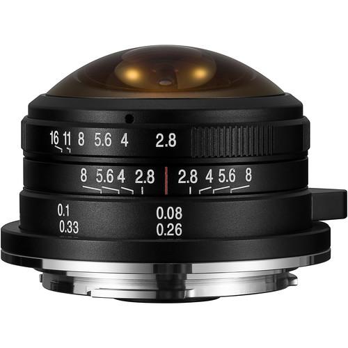 Venus Optics Laowa 4mm f/2.8 Fisheye Lens for Micro Four Thirds