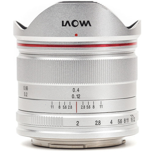 Venus Optics Laowa 7.5mm f/2 MFT Lens for Micro Four Thirds (Ultra-Light Version, Silver)