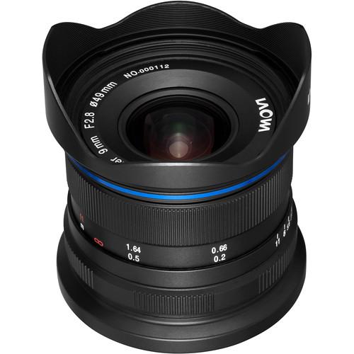 Venus Optics Laowa 9mm f/2.8 Zero-D Lens for Canon EF-M