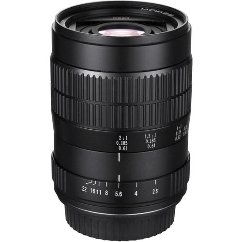 Venus Optics Laowa 60mm f/2.8 2X Ultra-Macro Lens for Canon EF