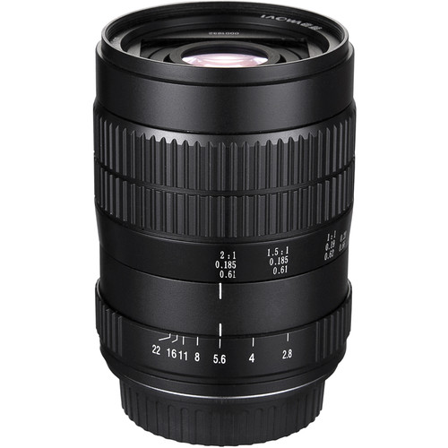Venus Optics Laowa 60mm f/2.8 2X Ultra-Macro Lens for Sony A-Mount