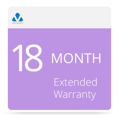 Veracity 18-Month Extended Warranty for COLDSTORE 15-Bay 4U Dual Hot-Swap Power Supply