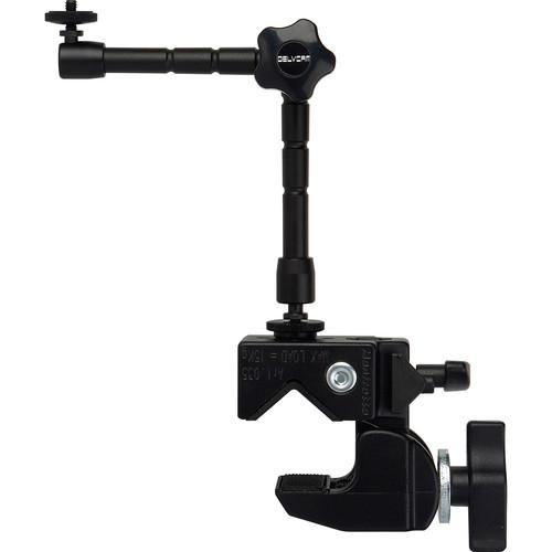 Delvcam Monitor Multi-Arm & Manfrotto Super Clamp