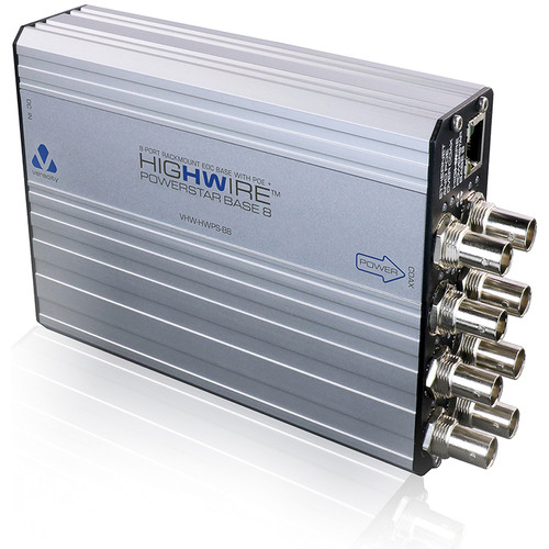 Veracity HIGHWIRE 8-Port Ethernet over Coax PowerStar Base Unit