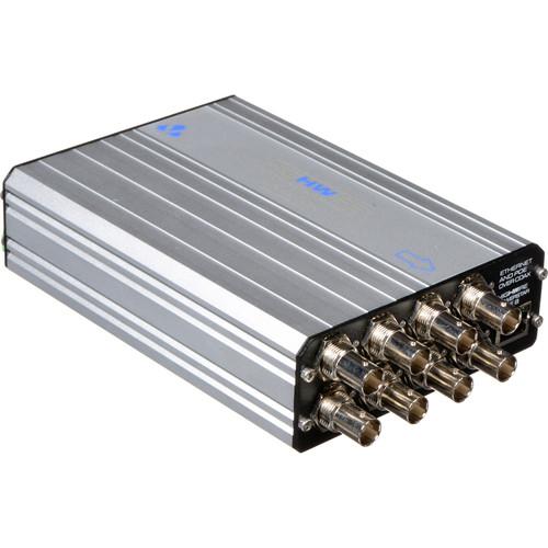 Veracity HIGHWIRE Powerstar Base-8 IP & PoE Over Coax Base Unit