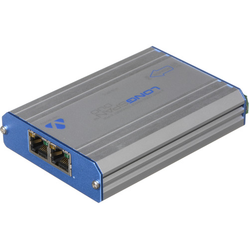 Veracity LONGSPAN Camera Duo Ethernet Range Extender with PoE