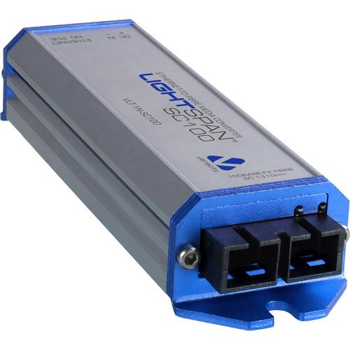 Veracity LIGHTSPAN SC100 Media Converter (Single Unit)