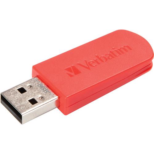 Verbatim 8GB Mini Store 'n' Go USB 2.0 Flash Drive (Red)