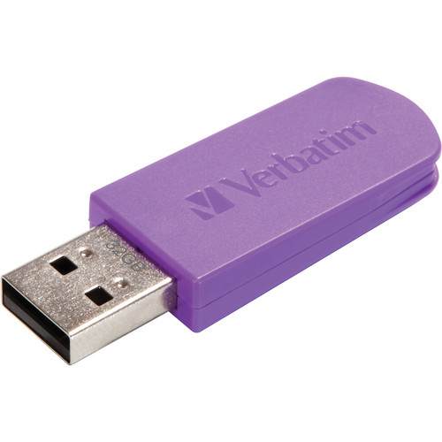 Verbatim 32GB Mini Store 'n' Go USB 2.0 Flash Drive (Violet)
